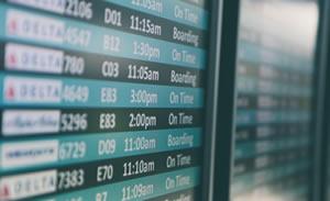 Leiebil på Flyplass