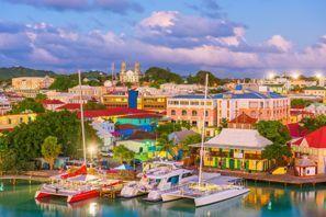 Leie bil St Johns, Antigua