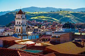 Leie bil Sucre, Bolivia