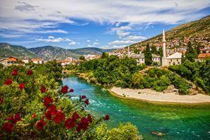 Leie bil Mostar, Bosnia
