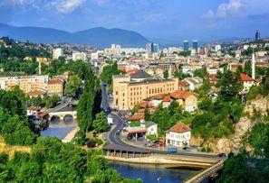 Leie bil Sarajevo, Bosnia