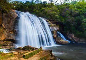Leie bil Caetite, Brazil