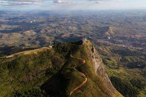 Leie bil Guanhaes, Brazil