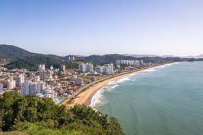 Leie bil Itajai, Brazil