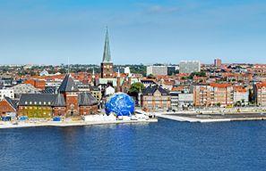 Leie bil Aarhus, Danmark