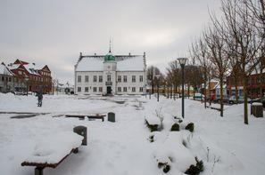 Leie bil Maribo, Danmark