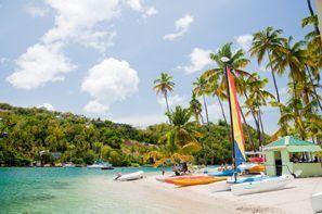 Leie bil Marigot, Dominica