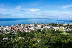Leie bil Roseau, Dominica