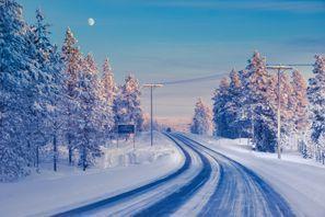 Leie bil Ivalo, Finland