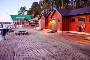 Leie bil Maarianhamina, Finland