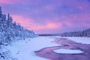 Leie bil Muonio, Finland