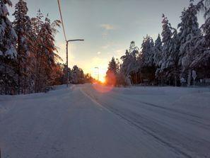 Leie bil Pello, Finland