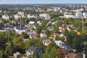 Leie bil Rauma, Finland