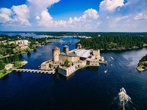 Leie bil Savonlinna, Finland