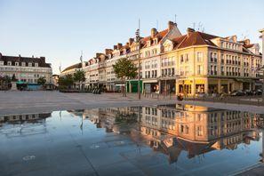 Leie bil Beauvais, Frankrike