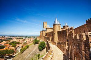Leie bil Carcassonne, Frankrike