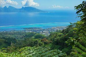 Leie bil Moorea Island, Fransk Polynesia
