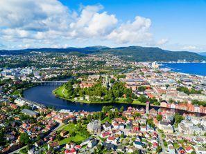 Leie bil Trondheim, Norge