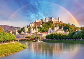 Leie bil Salzburg, Østerrike