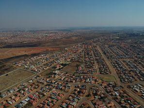 Leie bil Randfontein, Sør Afrika