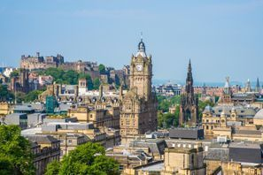 Leie bil Edinburgh, Storbritannia