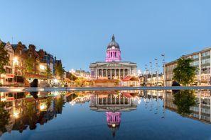 Leie bil Nottingham, Storbritannia