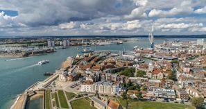 Leie bil Portsmouth, Storbritannia