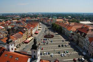 Leie bil Hradec Kralove, Tsjekkia