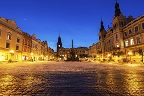 Leie bil Pardubice, Tsjekkia